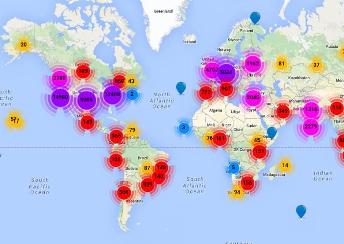 HarmonyMinds auf der Weltkarte der Startup-Szene