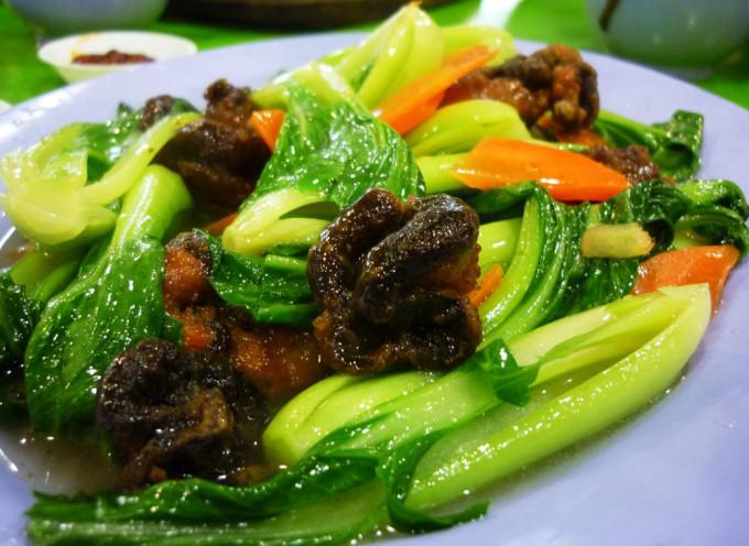 Vegane Wurzeln von Fischfressern und  Flexitariern in Peking