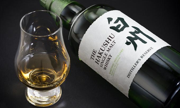Hakushu 12 years japanischer whisky