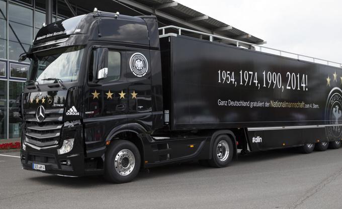 Das rollende Business. Was die Transportbranche mit Fußball verbindet.