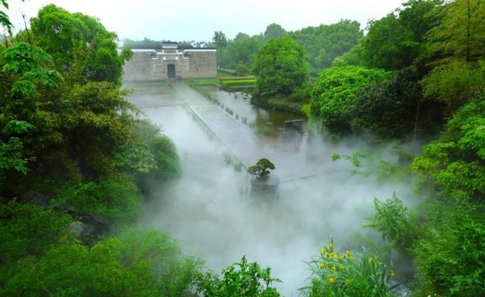 Das Ergebnis einer monumentalen Erhaltungsinitiative vor den Toren Shanghais.