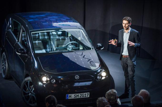 """Solarauto """"Sion"""" von Sono Motors wurde erstmals vorgestellt."""