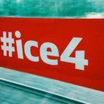 Impulse zu Mobilität und Arbeitswelten, bei über 200 KMH im ICE4