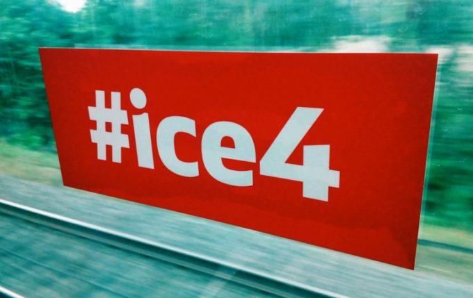 Impulse zu Mobilität und Arbeitswelten, bei über 200 KMH im ICE4 7