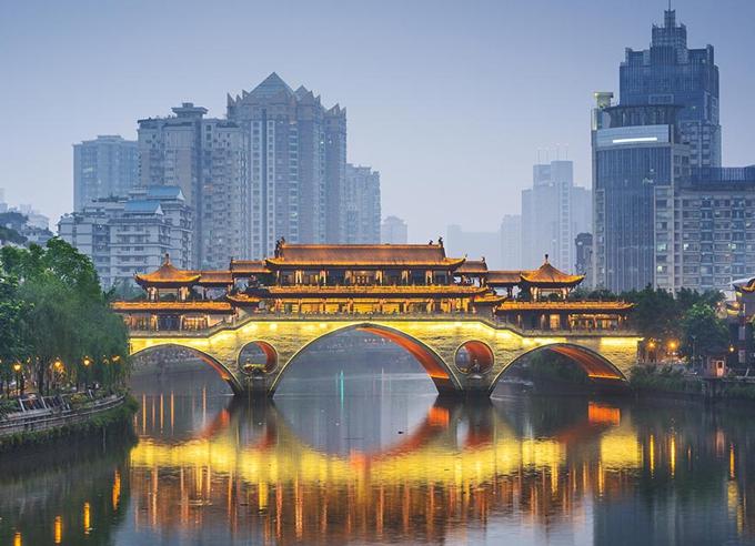 Chengdu ist die glücklichste Stadt Chinas