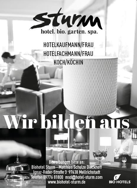 Bio Hotel Sturm - Sich zurücklehnen, ausspannen, Geniessen