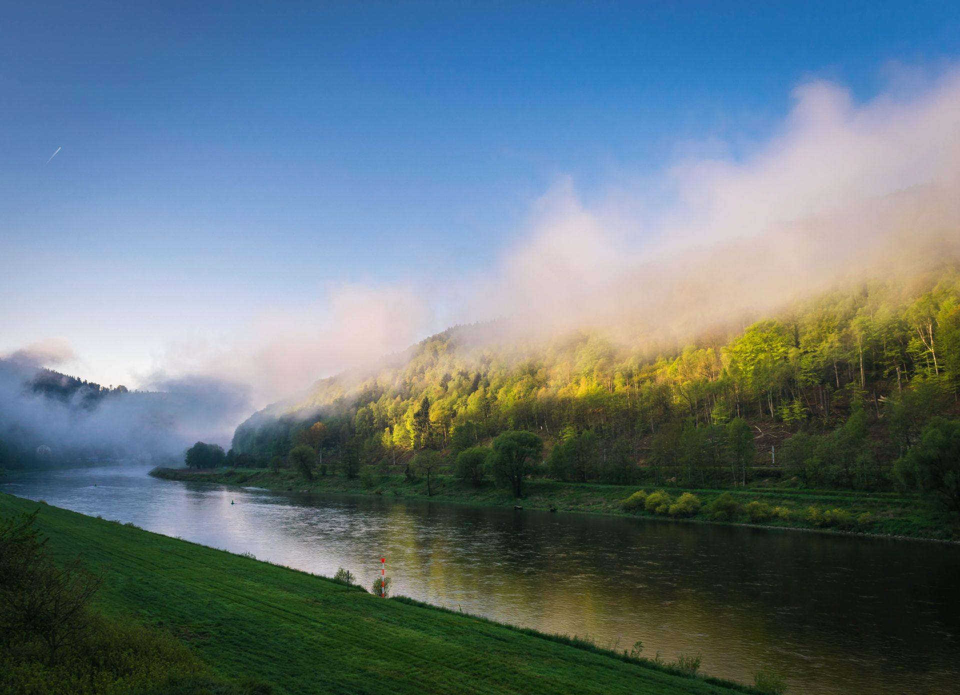 Teil 2: Deutschlands atemberaubende Flüsse. — Die besten Kurzreisetips für sonnige Wintertage.