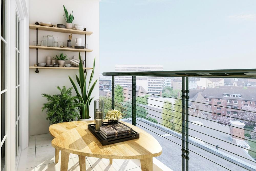 Ein besonderer Ort zu Inspiration. Den eigenen Balkon richtig gestalten.