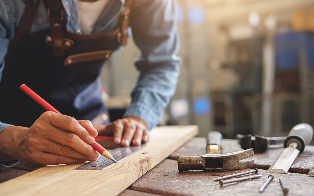 So starten Sie mit der eigenen Holzwerkstatt zu Hause. 1