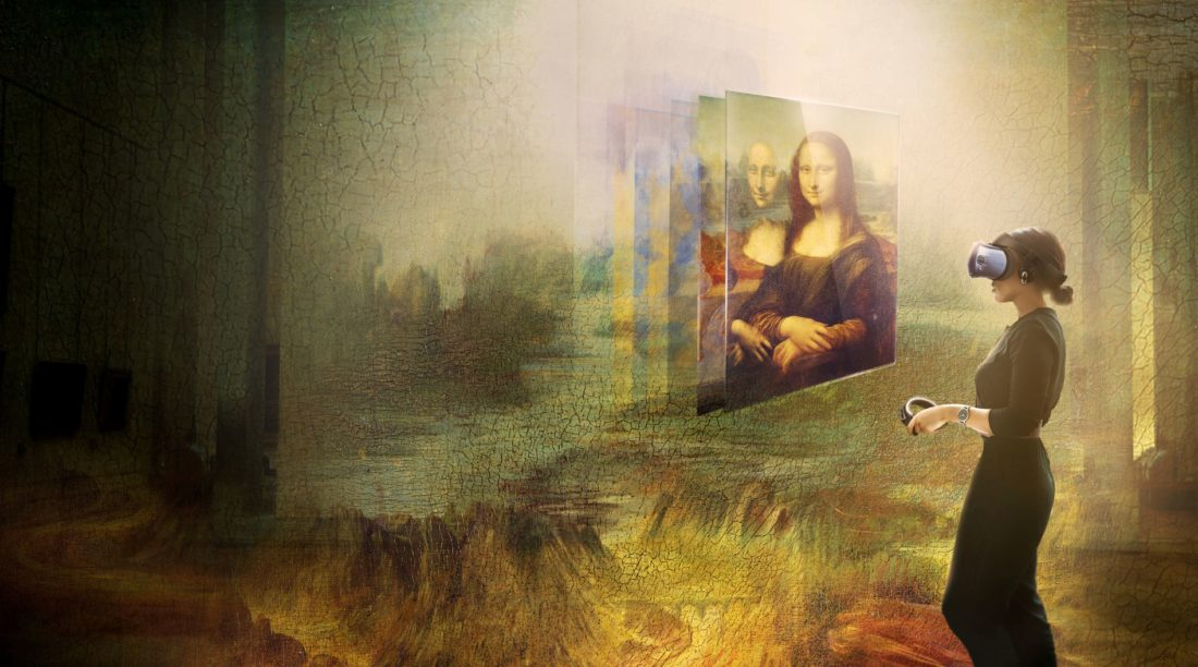 Mona Lisa virtuell erfahren. Beyond the Glass – Ein Virtual Reality Projekt im Louvre Museum