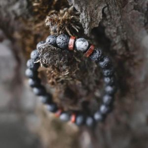 Vulkanstein Armband