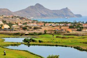 Porto Santo Golf Platz