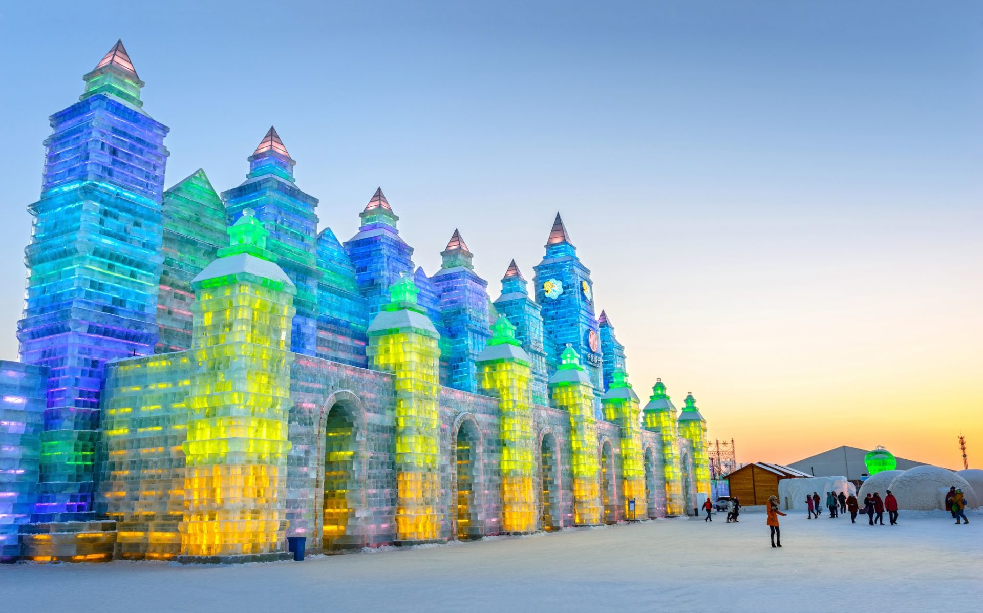 Harbin Eisfestival China