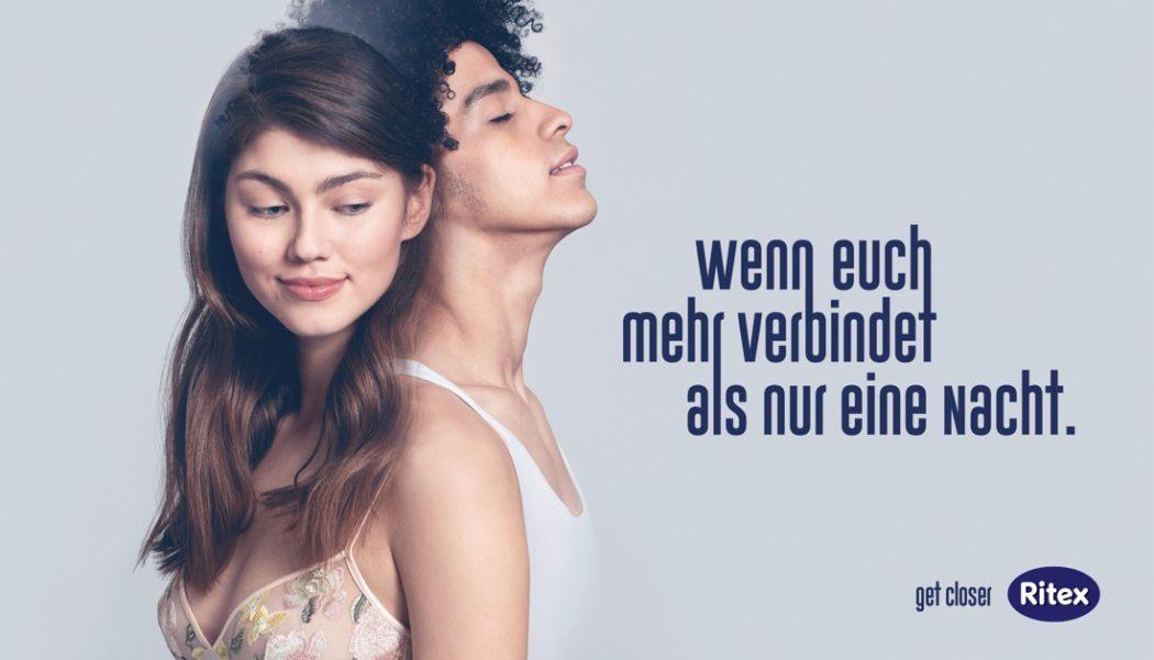 Kondom-Kampagne - get closer / Vertrauensvoll und leidenschaftlich mit Ritex Kondomen und Gleitmitteln