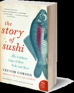 Vegane Wurzeln von Fischfressern und Flexitariern - Story of Sushi Buch