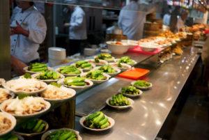 Vegane Wurzeln von Fischfressern und Flexitariern - Buffet