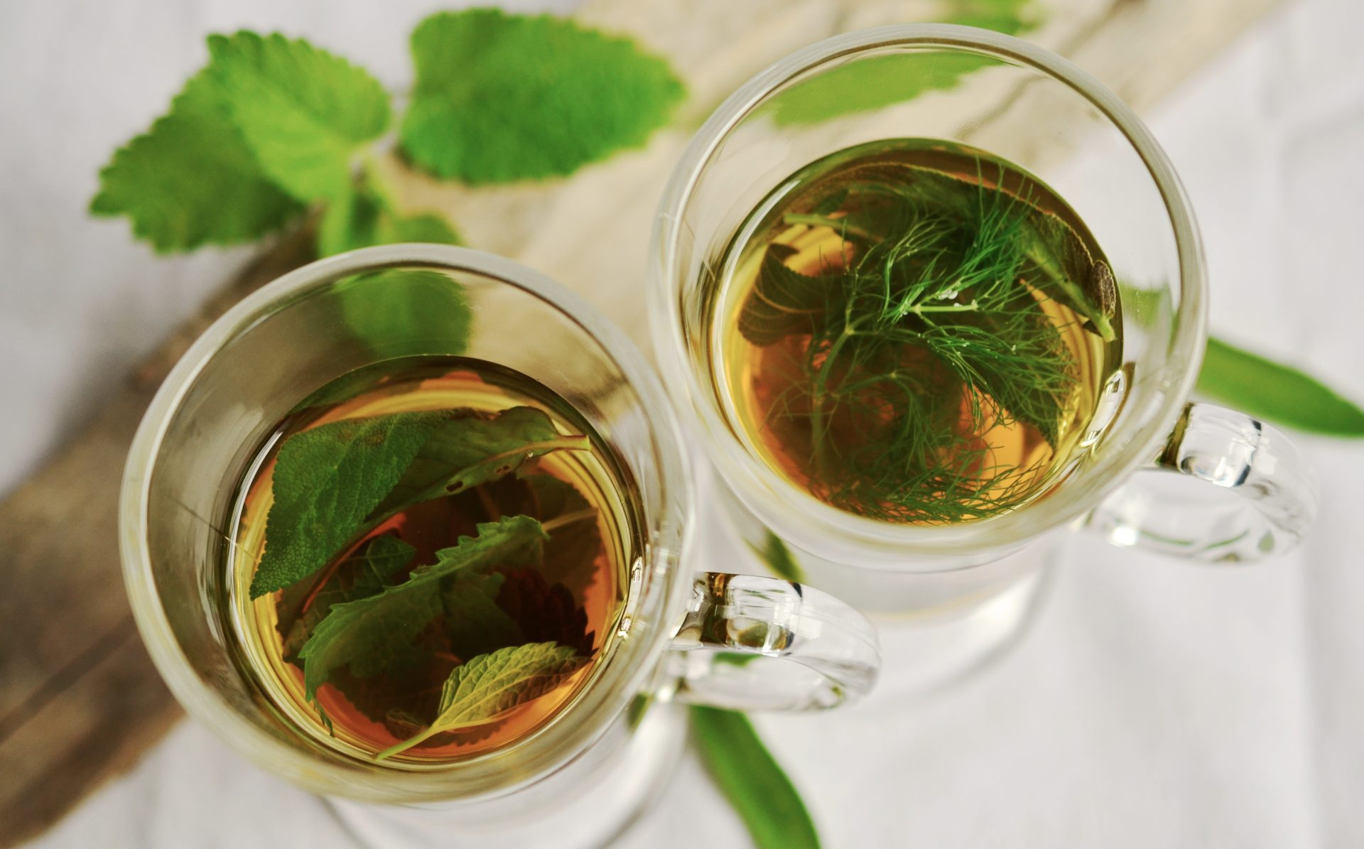 Frischer Minztee - Wie viel frische Minze für eine Tasse Tee?