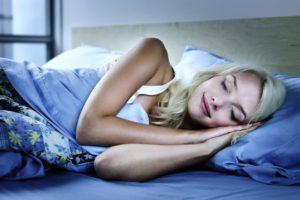 richtig einschlafen
