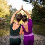 Regionalität, Nachhaltigkeit und faire Arbeitsbedingungen bei der Fertigung. LIEBESTOLL bietet besondere Yoga Mode.