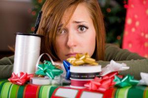 Plötzlich ist wieder Weihnachten - Stress