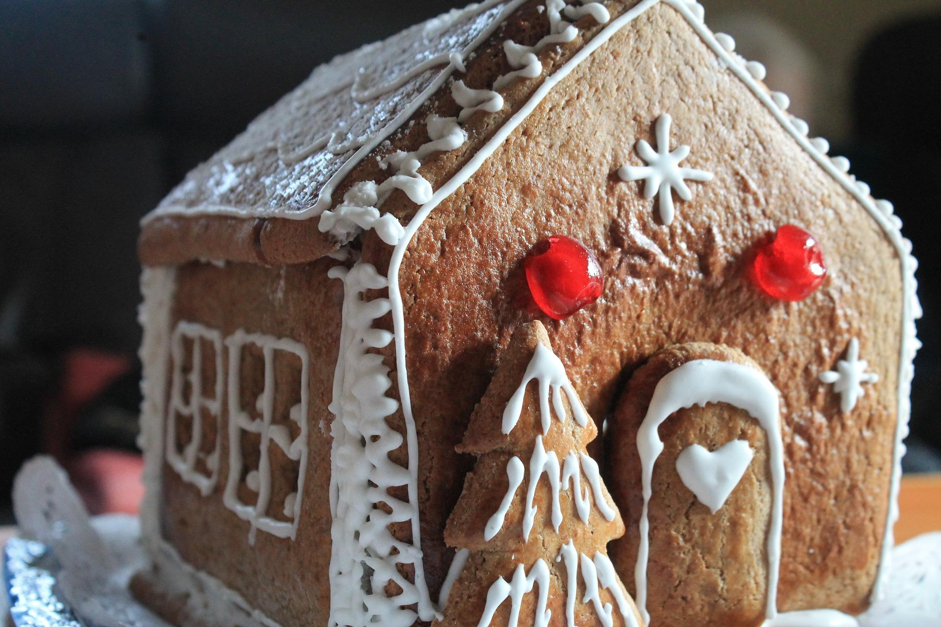 Ideen zum Lebkuchenhaus verzieren